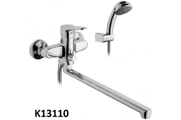 K13110 смеситель GERHANS для ванны излив 35см