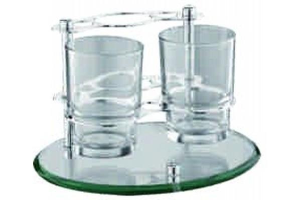 L105 стакан 2-ой для з/щетки и зуб.пасты