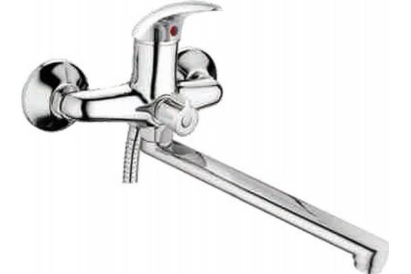 L2238-В ванна длинный нос, дивертор в корпусе