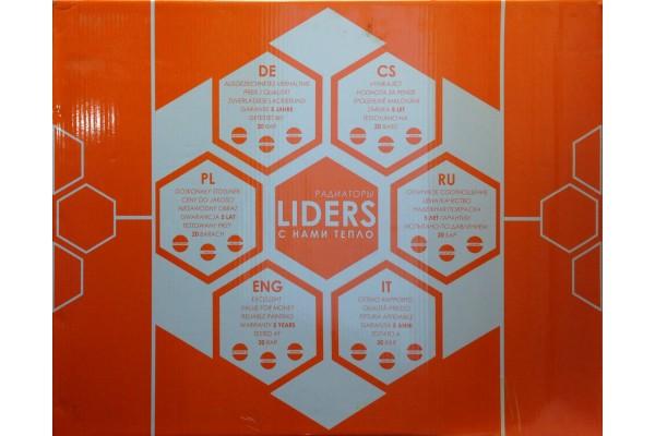 350/80 Радиатор алюм. LIDERS (350x800x80) - 10 рёбер